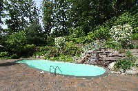 Oasis Fiberglass Pool in Garfield, KY